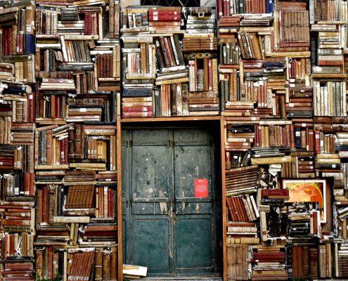 Storyteller door books
