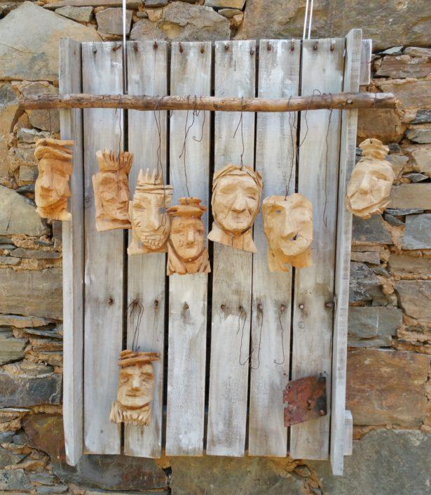 Art Door Faces